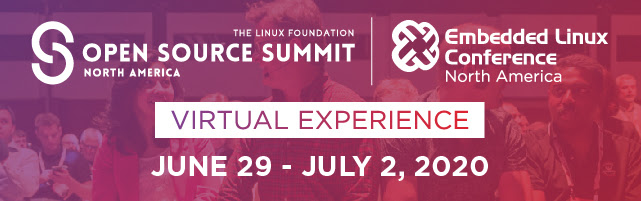 Open source summit + Embedded Linux conference North America 2020 virtual experience